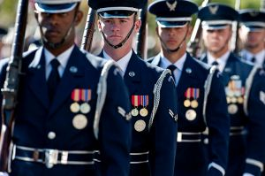Airmen_with_the_Air_Force_Honor_Guard_at_Bolling__perform_duringVeteransDay